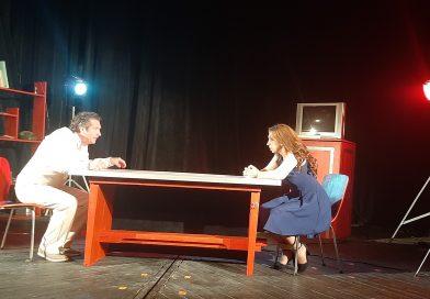 """Майсторска актьорска игра и изпълнен с обрати сюжет във """"Верига от думи""""- новото заглавие на дупнишкия театър"""