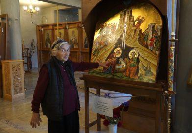 """(ВИДЕО) Чудотворна икона """"Рождество Христово"""" от Йерусалим получи нов дом в Гоце Делчев"""