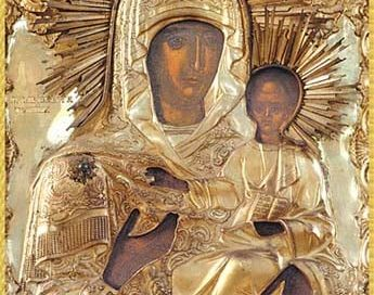 Майката Божия мина през Гоце Делчев на път за Банско